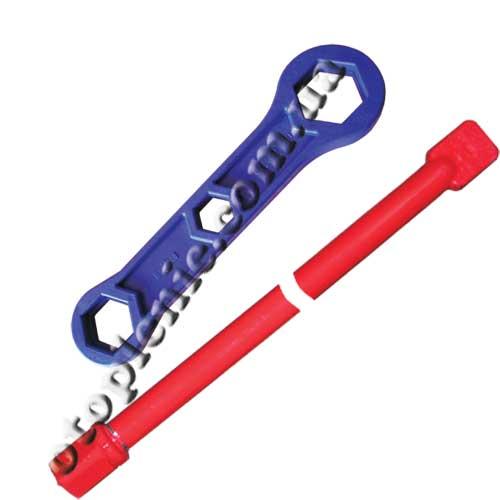 Ключ для сборки алюминиевых радиаторов.