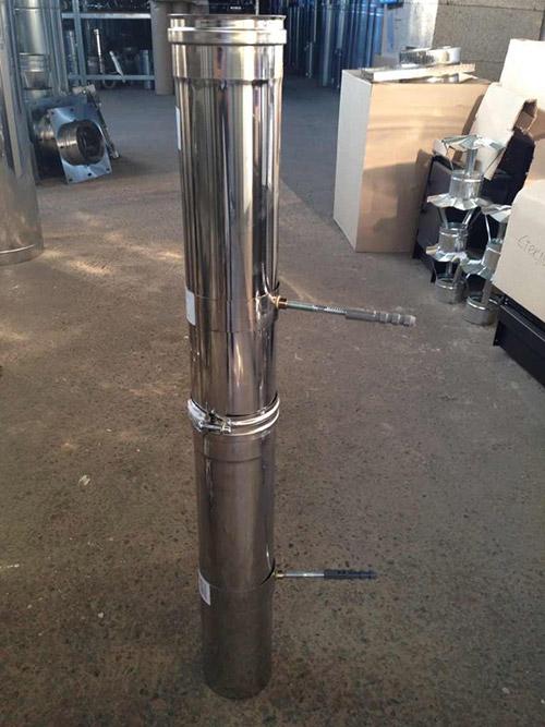 Купить систему дымохода как самому сделать трубы для дымохода из жести