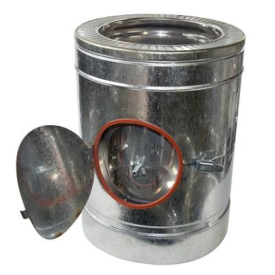 Ревизия для дымохода из нержавейки фото кирпич для дымохода в рб